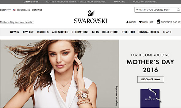 Swarovski.com Review