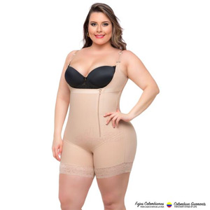Body Shaper Braless with a Sexy Lace Short