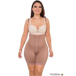 Bodysuit Short Style No Zipper Medium Compression Thermal Action