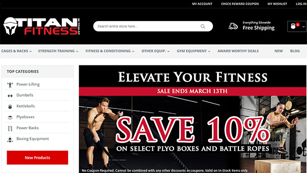 titan fitness review