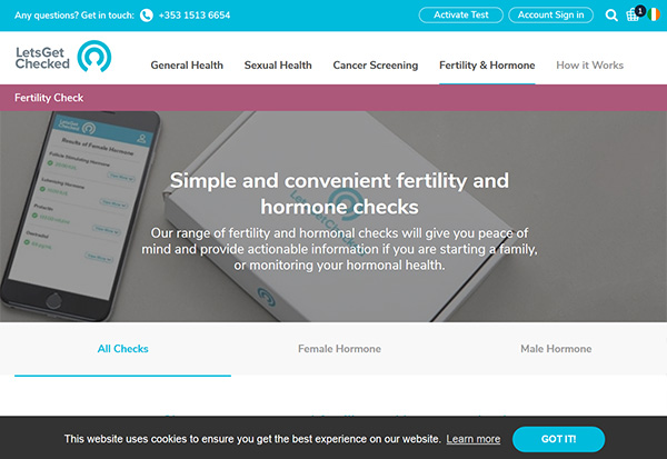 LetsGetChecked At Home Fertility Hormone Test Review
