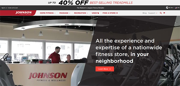 Johnsonfitness.com Reviews