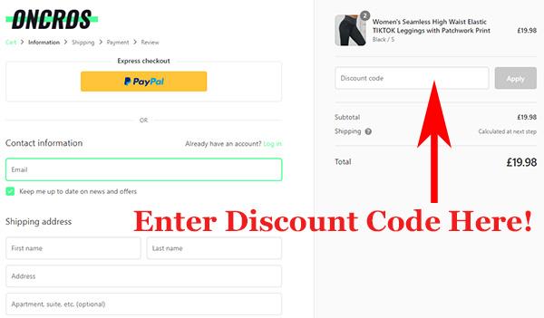 Oncros.com discount code